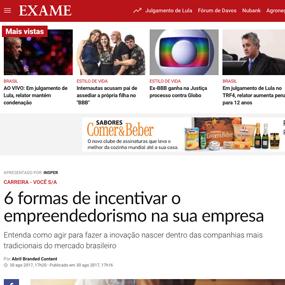 Revista Exame Empreendedorismo
