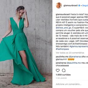 Glamour Brasil Instagram Fashion Pass