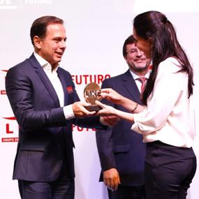 Prêmio Lide Futuro pelo João Dória